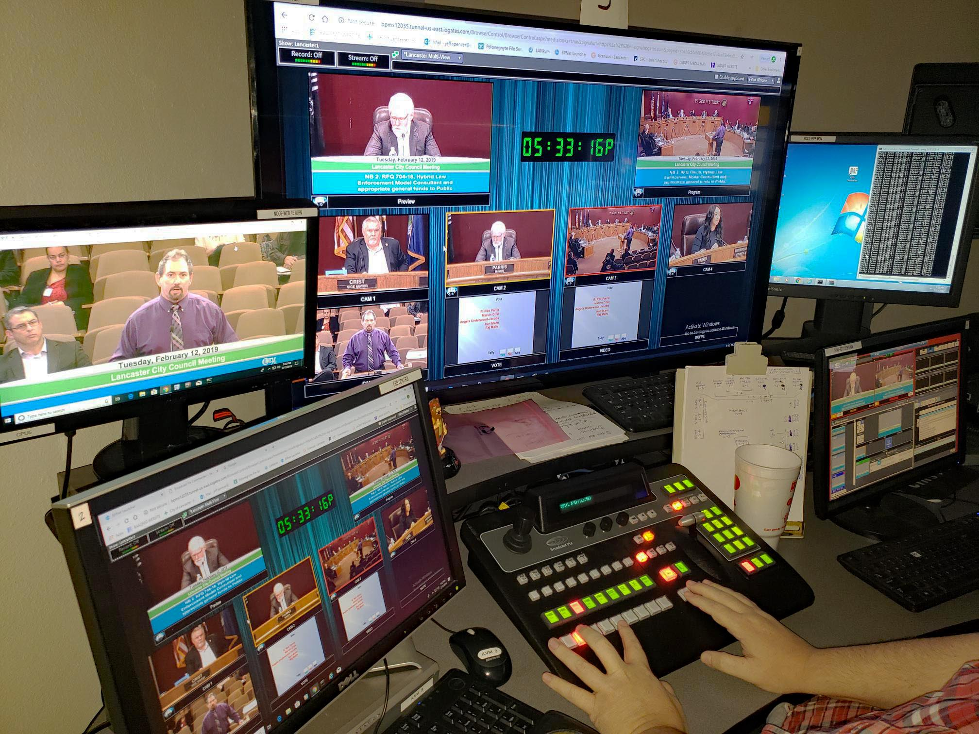GovTV Anchors Remote Turnkey Video Production for City of